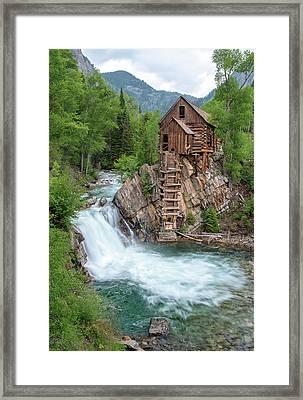 Crystal Mill Colorado Framed Print