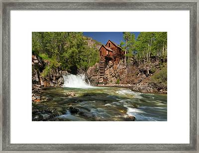 Crystal Mill II Framed Print