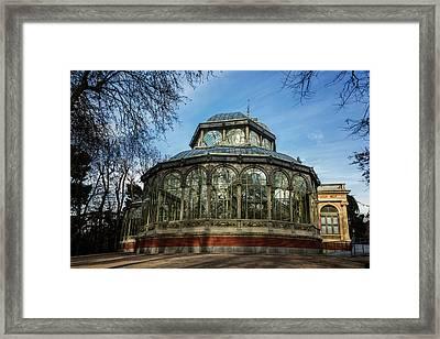 Crystal Palace Madrid Framed Print
