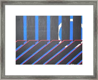 Crystal Passage Framed Print by Kenneth Regan