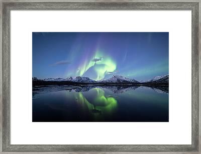 Crystal Reflections Framed Print by Damon Beckford
