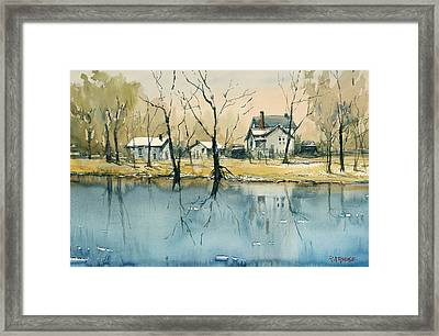 Crystal River View Framed Print