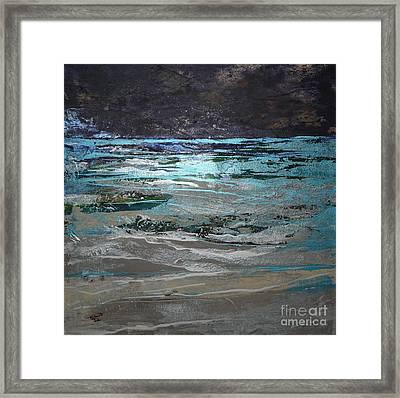 Crystal Sea Framed Print by Donna McLarty