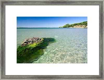 Crystal Sea Framed Print by Evgeni Dinev