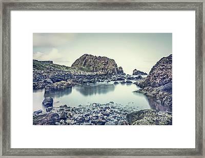 Crystal Shores Framed Print by Evelina Kremsdorf
