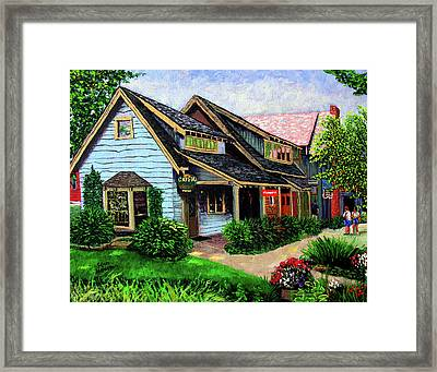 Crystal Source Daily Grind Framed Print by Stan Hamilton