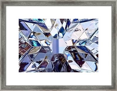 Crystal Star Framed Print by Bonnie See