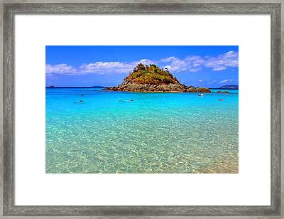 Crystal Waters Framed Print by Scott Mahon