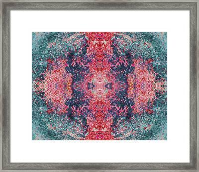 Crystalline Being Framed Print