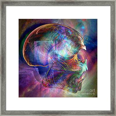 Crystalline Body Framed Print