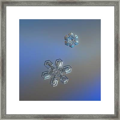 Framed Print featuring the photograph Crystals Of Day by Alexey Kljatov