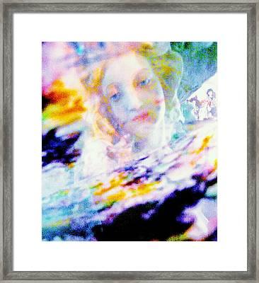Crytsal Framed Print by HollyWood Creation By linda zanini