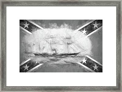 Css Alabama Framed Print