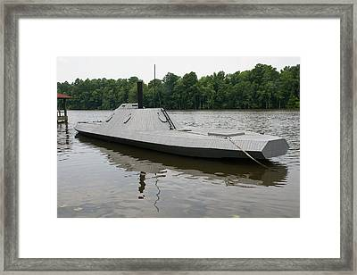 Css Ram Albermarle  Framed Print by Rodger Whitney
