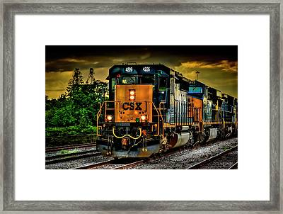 Csx 4226 Framed Print by Marvin Spates