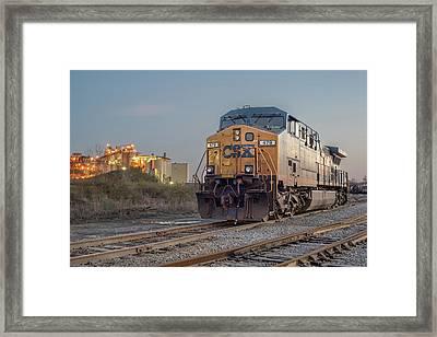 Csx 479 Framed Print by Derek Thornton