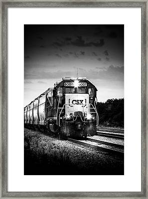 Csx 6007 Framed Print by Marvin Spates