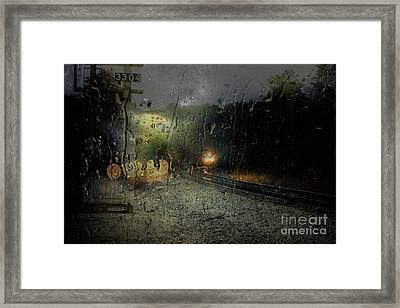 Csx And Storm Framed Print