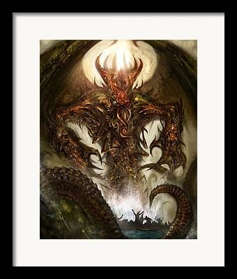Creature Design Framed Prints