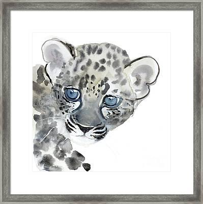 Cub Framed Print by Mark Adlington