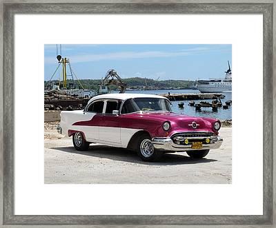 Cuban Cars 4 Framed Print by Cindy Kellogg