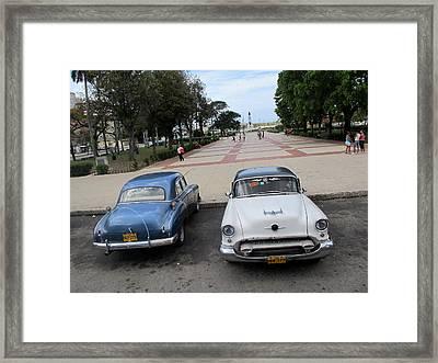 Cuban Cars 5 Framed Print by Cindy Kellogg