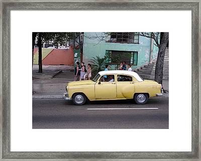 Cuban Cars 6 Framed Print by Cindy Kellogg