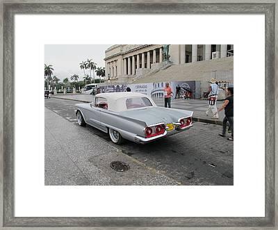 Cuban Cars 8 Framed Print by Cindy Kellogg