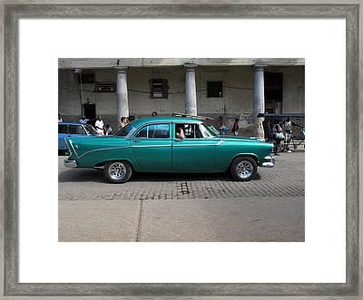 Cuban Cars 9 Framed Print by Cindy Kellogg
