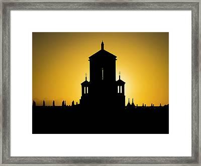 Cuban Landmark. Framed Print