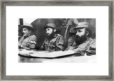 Cuban Revolutionary Trials Framed Print
