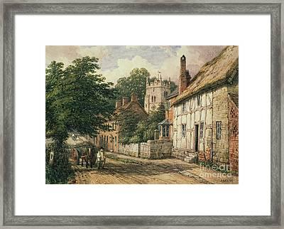Cubbington In Warwickshire Framed Print