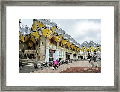 Framed Print featuring the photograph Cube Houses In Rotterdam by RicardMN Photography