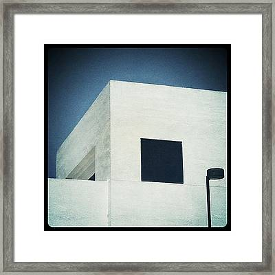 Framed Print featuring the photograph Cubes I by Kevin Bergen