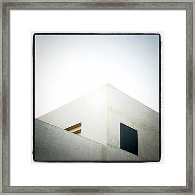 Framed Print featuring the photograph Cubes II by Kevin Bergen