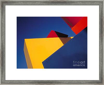 Framed Print featuring the photograph Cubic by Sandro Rossi