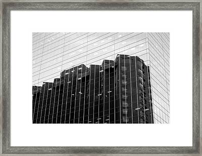 Framed Print featuring the photograph Cubicle Farm by Valentino Visentini