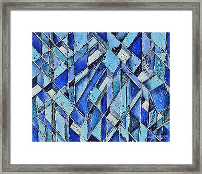 Cubicles Framed Print by James Pinkerton