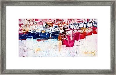 Cubicles Framed Print by Janice Nabors Raiteri