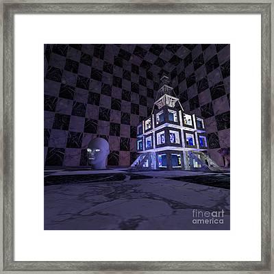 Cubizz Framed Print
