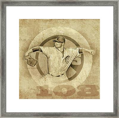 Cubs 108 Framed Print