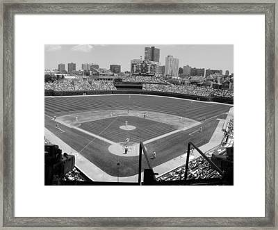 Cubs Game...2009 Framed Print