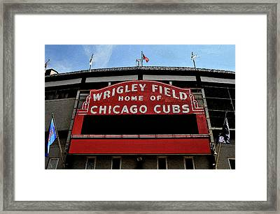 Cub's House Framed Print