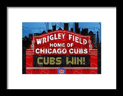 Vintage Chicago Framed Prints