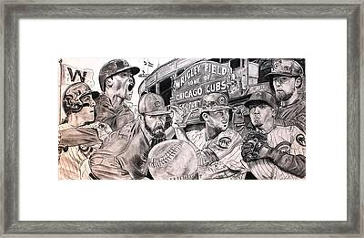 Cubs World Series Framed Print