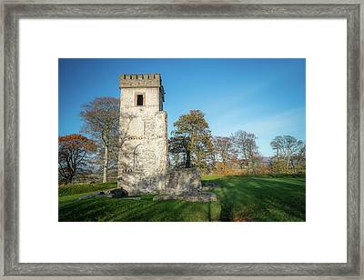 Cuchulains Castle Framed Print by Marty Garland