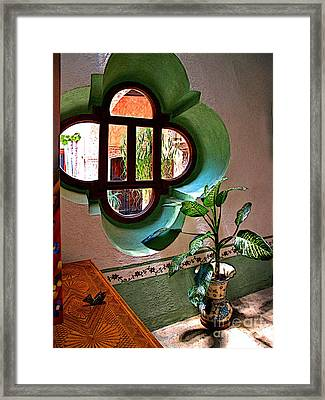 Cucina Framed Print by Mexicolors Art Photography