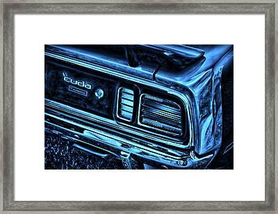 'cuda By Plymouth Framed Print by Gordon Dean II