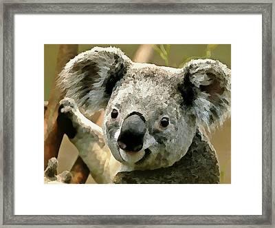 Cuddly Koala Framed Print