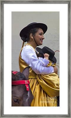 Cuenca Kids 669 Framed Print